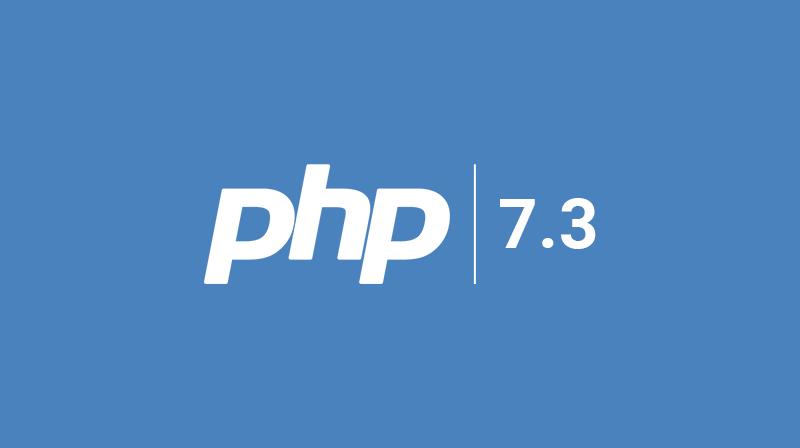 Поддержка PHP 7.3