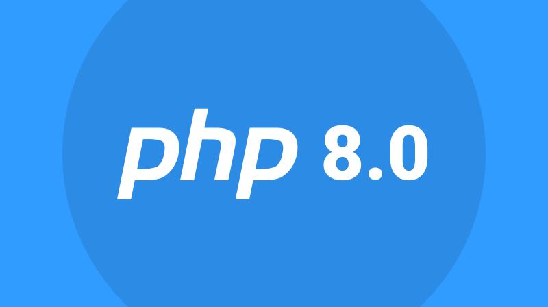 Поддержка PHP 8.0